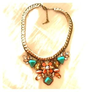 Chloe + Isabel rope turquoise necklace